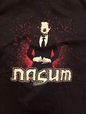 Nasum S Small T-Shirt Grindcore Magrudergrind Pig Destroyer Napalm Death Assuck