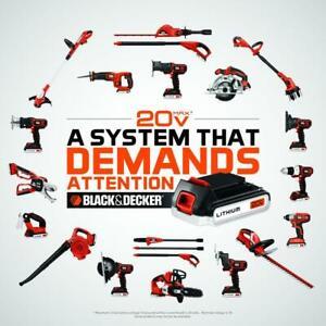 BLACK+DECKER 20V tools cordless Impact driver matrix Drill SAW battery