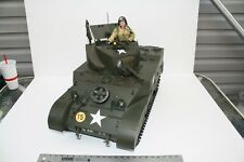 WW II Stuart Tank 1/6 scale ultimate soldier static variant with commander!