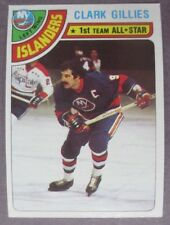 1978-79 Topps #220 Clark Gillies New York Islanders