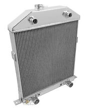 3 Row Performance Radiator For 1942 - 48 Ford Cars Flathead V8 Config
