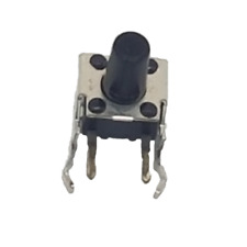 PACK OF 25 EVQPF008K Panasonic Switch Tactile ON OFF SPST Round Button PC Pins
