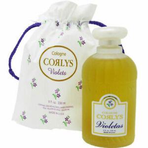 Corlys Violetas Yellow Baby Cologne Children & Adults Splash Glass Bottle 8 oz