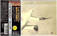 GRUPPO 2001 L'Alba Di Domani CD 1970s Italian Prog Rock—1st CD Ed., Japan w/Obi