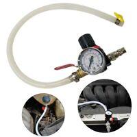 Car Cooling Radiator Pressure Leak Tester Tank Fuel Tank Detector Meter Tool W2E
