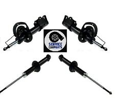 SET 4 FRONT REAR RIGHT LEFT GAS SHOCK ABSORBER DODGE JOURNEY 2009-