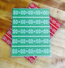 Ugly Christmas Sweater Holiday Front/Back Cover Set 4 use w Erin Condren Planner
