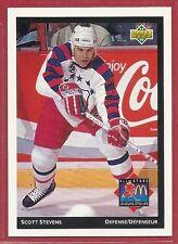 1992-93 Upper Deck McDonald's NHL All-Stars - #27 - Scott Stevens - Devils