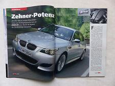 BMW M5 E60 500 PS - Fahrbericht - Auto Motor Sport Heft 20/2004