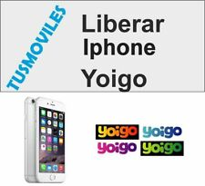 Libera Liberar Iphone Yoigo 5S 5C 5 6 6 plus 4 4S 3GS 3 todos los modelos