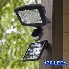 120 LED Energía Solar PIR Sensor de Luz de Pared Seguridad Jardín Exterior Patio