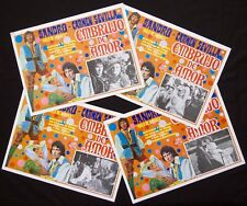 SANDRO DE AMERICA Embrujo de Amor CARMEN SEVILLA 1971 LOBBY CARD SET OF 4