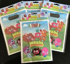 4 Packs Moshi Monster Loot Bags (32 Loot Bags Included) NEW