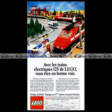 LEGO 'High-Speed City Express Passenger Train 7745' - Pub / Publicité / Ad #C177