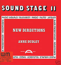LP LIBRARY SOUND STAGE 11  ANNE DUDLEY NEW DIRECTIONS