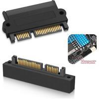 SFF- 8482 SAS To SATA 22 Pin 180 Degree Angle Hard Disk Card Adapter I0O0