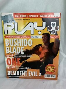 Play Magazine Issue 30 Feb 1998 PlayStation Bushido Blade Reviews And Many More