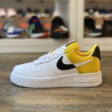 Nike Air Force 1 '07 Gr.45,5 Sneaker NBA weiß gold BQ4420 700 Classic Schuhe