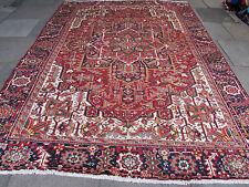 VECCHIO Fatto a Mano Tradizionale Persiano Orientale Lana Tappeto Tappeto Rosso 325x250cm