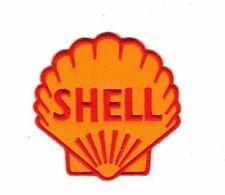 SHELL MOTOR OIL CAR TEAM Embroidered Patch Iron Sew Logo Hardcore Emblem Custom