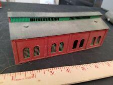 Structures layout model ho train MAINTENANCE BUILDING needs work LARGE