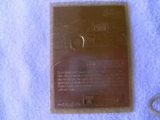 Dale Earnhardt 23k.gold card.