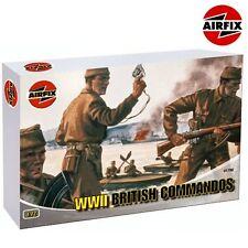 Airfix 01732 WWII British Commandos 1/72 plastic scale figure kit