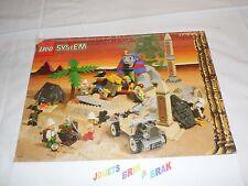 Lego system 1 notice egypte  book instruction manuel pour set 5978