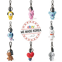 BT21 Character Figure Keyring Keychain 7types Official K-POP Authentic MD
