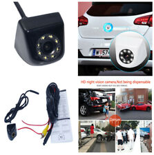 Car Backup Reverse Rear View Camera  8 W/LED Lights HD Color CCD NTSC TV System