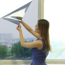 One Way Mirror Privacy Reflection Tint Window Film Solar Energy Save PVC Silver