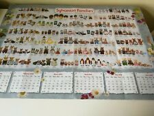 SYLVANIAN FAMILIES Family Name Poster A1 size (folded)  2009