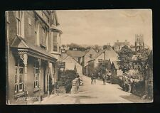 Devon PARRACOMBE General view & locals used 1914 PPC Frith #59442