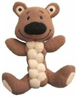 KONG Pudge Braidz Bear Dog Toy Medium/Large