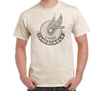 Vintage Campagnolo Logo Men's T-Shirt Bike Bicycle Cycling Retro Natural