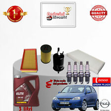 Replacement Filter Kit Oil Spark Plugs Opel Corsa C 1.0 I 12V