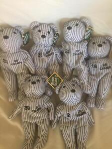 Lot Of 6 New York Yankees Bamm Beanos 1998 Champs