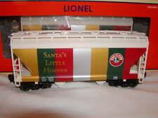 "Lionel 6-19366 Christmas 2 Bay ACF Hopper Train Car O-027 New Santa's 31"" Curves"