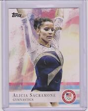 2012 TOPPS OLYMPIC ALICIA SACRAMONE GYMNASTICS CARD #11 ~ MULTIPLES