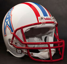 WARREN MOON HOUSTON OILERS Schutt OPO Football Helmet FACEMASK - SCARLET (RED)