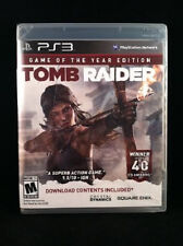 Tomb Raider: Game of the Year Edition (PlayStation 3) Brand New