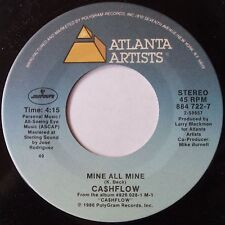 CASHFLOW: MINE ALL MINE / SPENDING MONEY rare ATLANTIC hip hop 45 super LOOK!