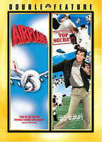 Airplane/Top Secret (DVD, 2007, 2-Disc Set, WS) Leslie Nielson,Val Kilmer