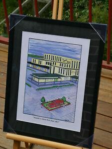 """Framed Real Estate Cartoon Print """"Should've taken their Final Offer"""""""