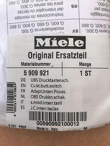"""Miele UBS Drucktastenschalter Nr. 5909921 """"NEU"""""""