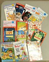 Lot of 10 Level 1 Ready to-I Can Read-Step into Reading-Learn Read Books MIX