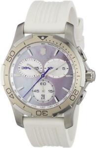 Victorinox Swiss Army 241352 Alliance Sport Chronograph MOP Quartz Womens Watch