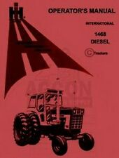 INTERNATIONAL FARMALL 1468 Tractor Operators Manual IH