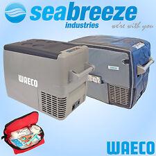 WAECO CF-40 Portable Fridge Freezer PACK INCLUDES COVER + BONUS PACK