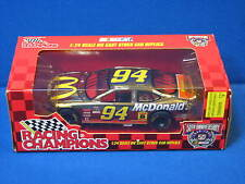 New Racing Champions Bill Elliott #94 McDonald's 1:24 Die Cast Stock Car Gold